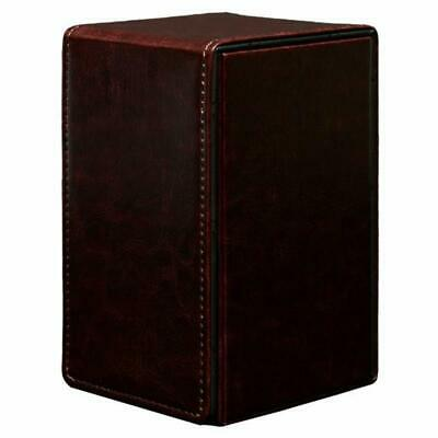 Deck Box Cowhide Alcove Tower Magnetic Closure Dice and Tokens Ultra Pro