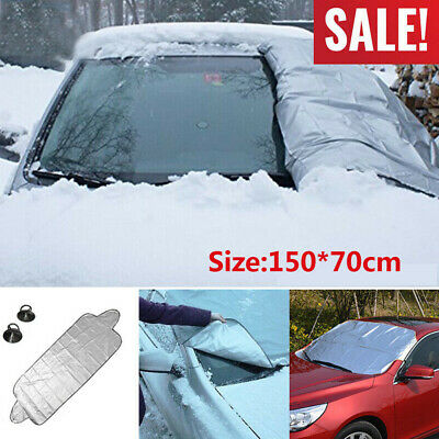Car Windscreen Cover From Snow Frost Ice 150X70CM Windshield Protector Sun Shade