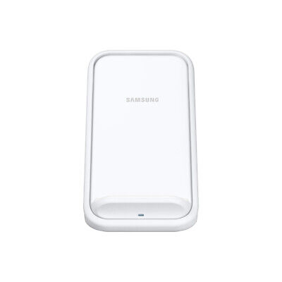 White Samsung EP-N5100TWEGGB Original AFC Wireless QI Compatible Charging Stand with Travel Adapter