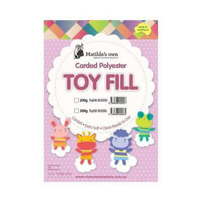 Batting Toy Fill 100% Polyester 500g By Matildas Own