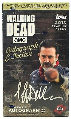 The Walking Dead Autograph Collection - Factory Sealed Hobby Box (Topps 2018)