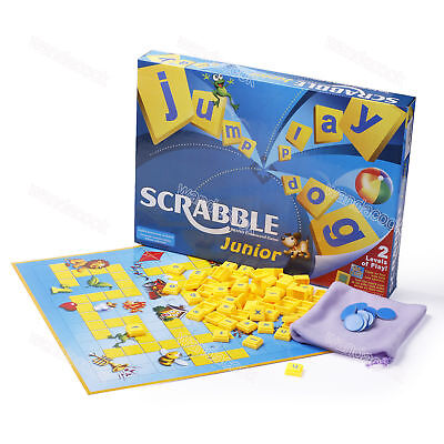 Junior Scrabble Funny Family Party Board Game Scrabble Junior Version Toy Gift