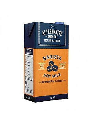 Alternative Dairy Co  Barista Soy Milk Uht 1l