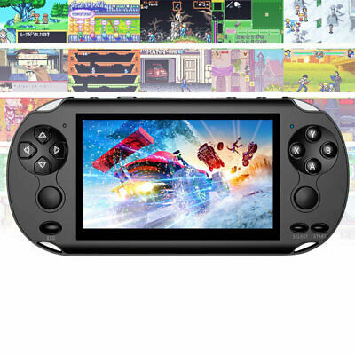 "Portable Handheld X9 Video Game Console PSP 5.0"" 128 Bit Built In 1000+Game 8GB"