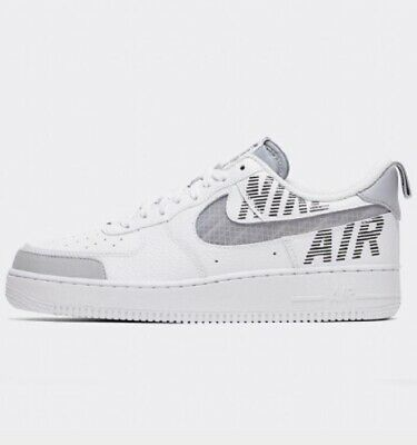 NIKE AIR FORCE 1 'Under Construction' Utility White & Wolf