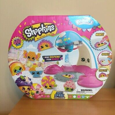 Sweet Spree Design Station Shopkins Beados 400 Beads Craft Kit Ages 4 21 84 Picclick