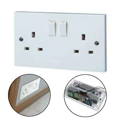 Voice Activated GSM Bug SIM Listening Wireless Device Mains Plug Socket EH