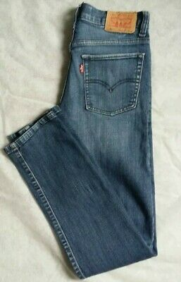 Child LEVI STRAUSS 510 Blue Super Skinny Jeans Age 18 Reg W29 L29