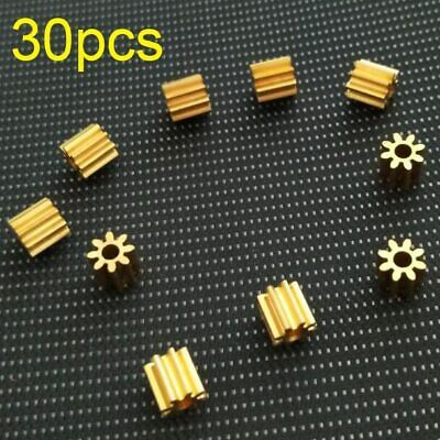 MABUCHI MOTORS 12 TOOTH TO BOOST SCALEXTRIC 10 WHITE PLASTIC PINION GEARS