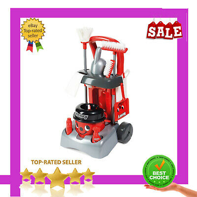 Henry Deluxe Cleaning Trolley Vacuum Cleaner Hoover Casdon Kids Fun Role UK