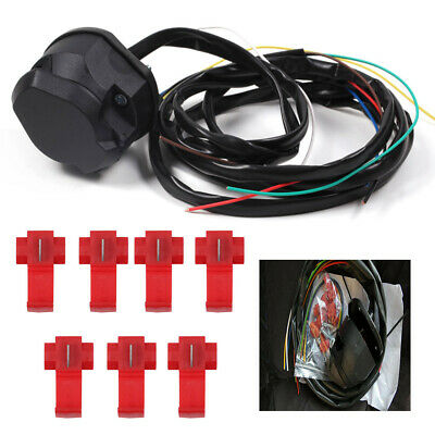 7 pin Universal Towbar Wiring Kit Buzzer Included Single Electrics Suitable