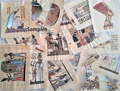Egyptian Papyrus A-1 *30x40 cm*Select any one picture see details. Additional-$8
