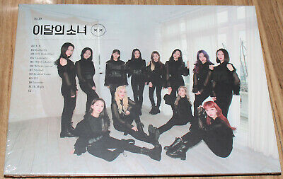 LOONA X X MINI ALBUM REPACKAGE NORMAL A Ver. CD + PHOTO CARD + POSTER IN TUBE