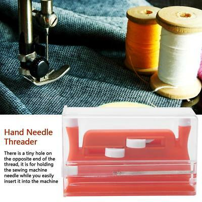Needle Threader Insertion Applicator Handle Thread For Sewing Machine NEW Home