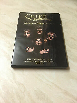 Queen - Greatest Video Hits 1 (DVD, 2002, 2-Disc Set) The DVD Collection