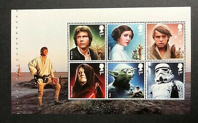 2015 Star Wars Prestige Booklet Pane DP493 - Ex DY15. Unmounted Mint.