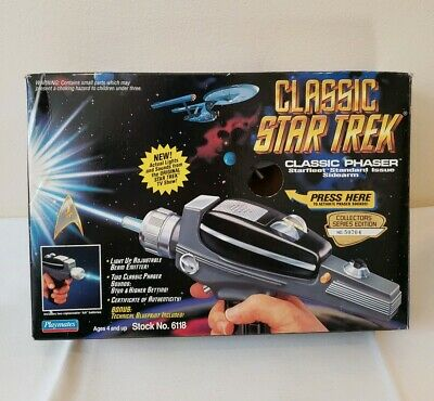 Classic Star Trek Phaser Playmates 6118 Collectors Series Edition NEW Open Box