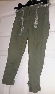 t u girls trousers aged 4 years