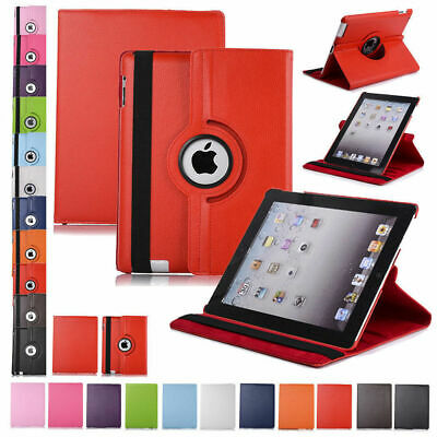 360 Rotating Leather Case Smart Stand Cover for Apple iPad Air 2 3/4 2014 Mini