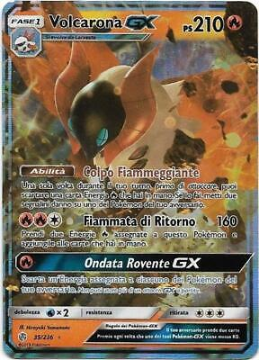 Pokemon Volcarona Gx 35/236 Rara Holo Eclissi Cosmica The Real_Deal Shop