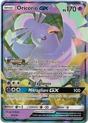 Pokemon Oricorio Gx 95/236 Rara Holo Eclissi Cosmica The Real_Deal Shop