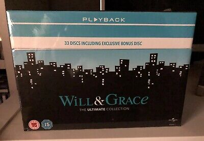 Will & Grace The Ultimate Collection [DVD] Complete Boxset Brand New Sealed BNIB