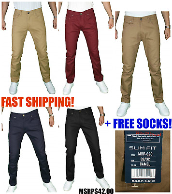 Mens Fashion Casual Slim Fit Stretch Denim Jeans NEW US SELLER