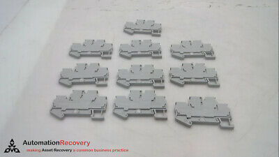 Phoenix Contact Sttb 2.5 - Pack Of 10 - Terminal Blocks, Grey, New* #265250