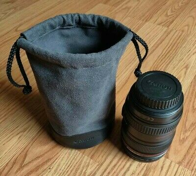Canon EF 24-105 mm F/4L USM Lens (1380C002) w/ lens hoods and travel pouch