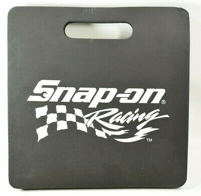 Vintage Snap-on Racing Kneeling Pad, 12 5/8 x 12 5/8 - New old stock