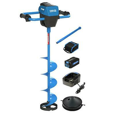 Frictionless World 120V 8 in Ice Auger 2AH Kit (8 Inch) 109148