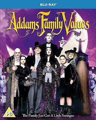 THE ADDAMS / ADAMS FAMILY VALUES BLU RAY NEW / Sealed