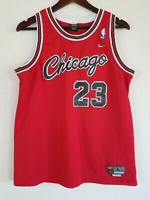 #23 Michael Jordan Chicago Bulls Throwback RED Jersey Men's or Youth size L