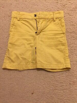 Baby Gap Short For 2 Year Old Boy In Yellow Color, Adjustable Waist, 100% Co