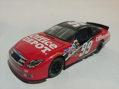 Ty Beanie Baby Carl Edwards MWMT Bear Nascar #99 Office Depot