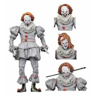 """NECA IT Evil Version Pennywise Clown 7"""" Scale Action Figure 2017 Movie Doll New"""