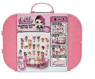 Lol Surprise ! Lol Surprise Fashion Show On The Go Hot Pink Storage And Playset