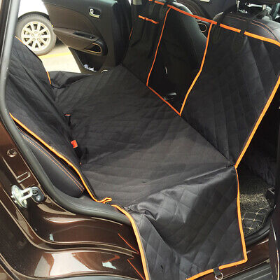 Pet Hammock Car Seat Cover Mat SUV Rear Bench Protection Waterproof for Dog &Cat