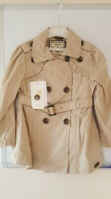 Mayoral Girls Beige Lightweight Coat Size 4 yrs - New with tags