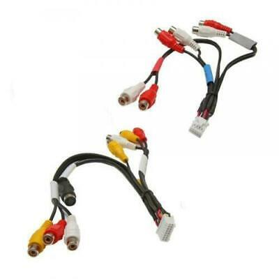 RCA Pre Out Phono Cable Lead Wiring Harness Connection for Pioneer AVIC-D3