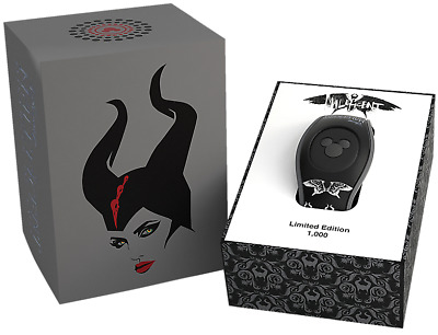 Disney Parks Maleficent Mistress of Evil Magic Band 2 - LE 2000 - SOLD OUT!