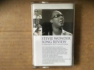 Stevie Wonder Song Review Greatest Hits Compilation Cassette Tape 1996 Motown