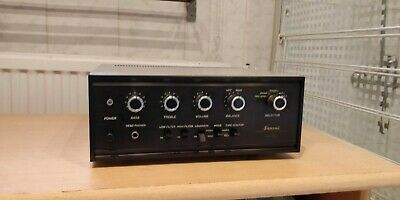 Sansui AU-222 Solid-State Stereo Amplifier (1969-71)