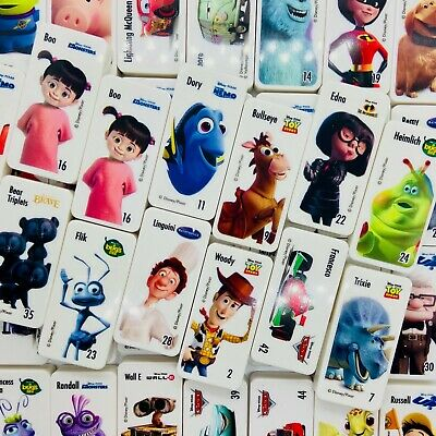 Woolworths Disney Pixar Domino Stars (NEW) - COMPLETE YOUR COLLECTION HERE