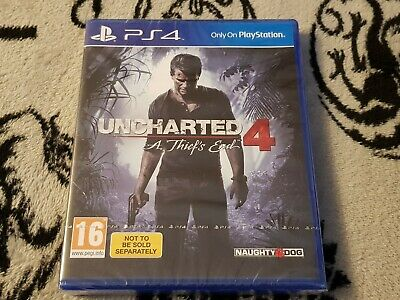 Ps4 UNCHARTED 4 A Thief's End New & SEALED UK PAL