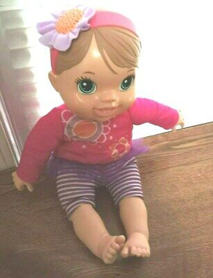 """""""Baby Alive"""" Talks, Plays & Giggle Works Batteries Included"""