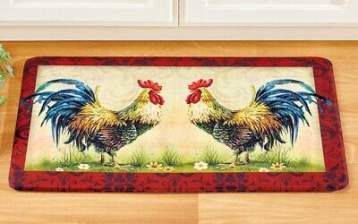 FRENCH COUNTRY ROOSTER Sunflower Kitchen Cushioned Floor ...