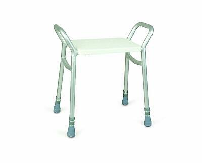Days Lightweight Height Adjustable Shower Stool, Bathroom Seat chair FREE POST