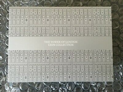 The Tower of London £5 Five Pound Coin Collection 2019 UK Display Box Royal Mint