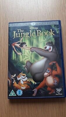 Disney's The Jungle Book DVD. 40th Anniversary Diamond Edition Numbered spine.
